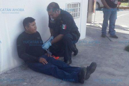 Desesperado camionero arrolla a motociclista en la Bojórquez