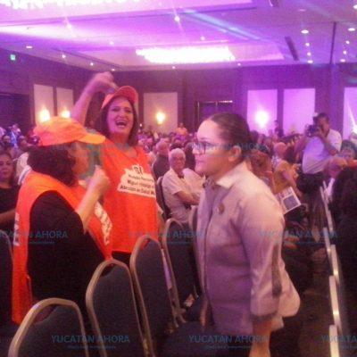 Pleito en Congreso de Salud Mental, en el Fiesta Americana