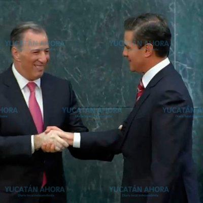 Meade renuncia a Hacienda para buscar la candidatura presidencial del PRI
