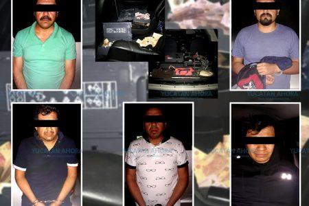 Policías en activo de Edomex, dos de los ladrones de cajeros automáticos