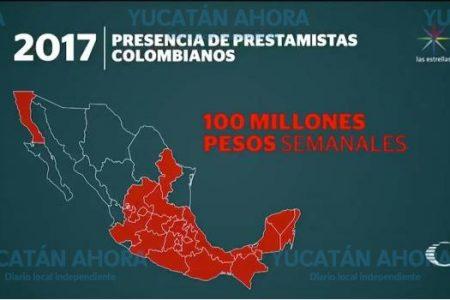 Se extiende a Yucatán red de colombianos que cobran derecho de piso