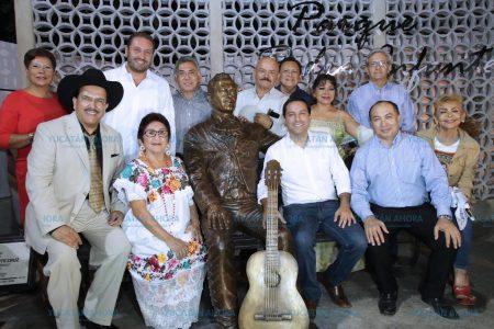 Inauguran el parque en honor a Pedro Infante en el sur de Mérida
