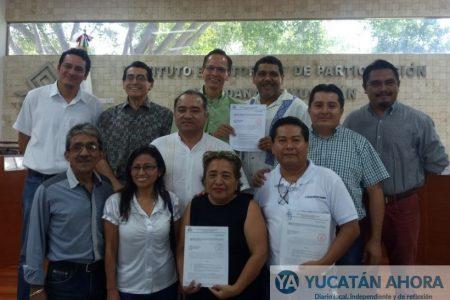Ciudadanos se registran como candidatos a diputados locales independientes