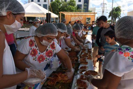 El Nohoch Pib de Kanasín deja buen sabor de boca a cientos de personas