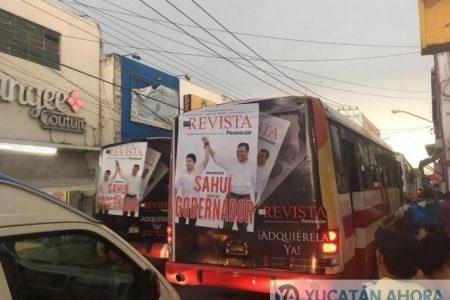 Ante la tibieza de las autoridades electorales, Sahuí mantiene abierto proselitismo
