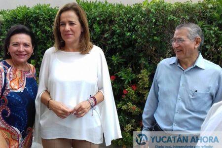 Margarita Zavala ofrece plática a estudiantes meridanos