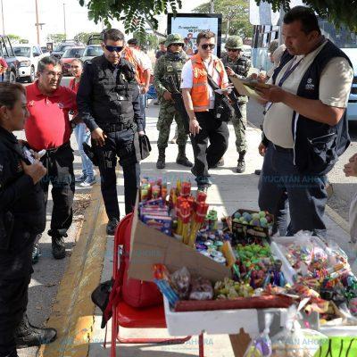 Piden estricto control a la venta de bombitas