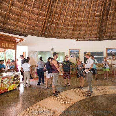 En los paradores turísticos se nota el resultado de la promoción de Yucatán