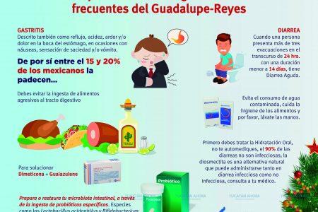 Estos son los padecimientos digestivos más frecuentes del Guadalupe-Reyes