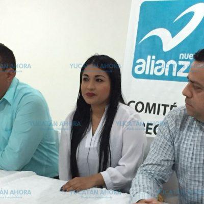 Ex alcaldesa de Tinum renuncia al PAN para ser candidata por el Panal