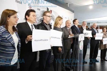 Senador yucateco apoya propuesta para que el Presidente sea sujeto a juicio político