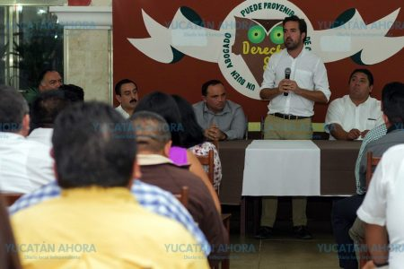 Pablo Gamboa dispuesto a trabajar por la paz y seguridad de Yucatán