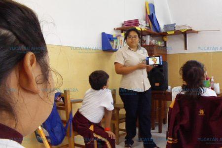 """Con aplicación móvil """"MercaDIFto"""" los maestros prevendrán la obesidad"""