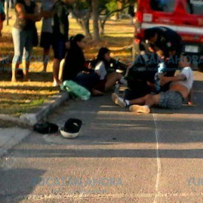 Heridos en un atropellamiento se niegan a ser llevados a un hospital