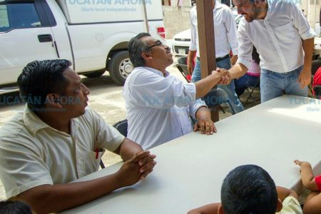 Programas de Pablo Gamboa han llegado a más de 100 puntos de Yucatán