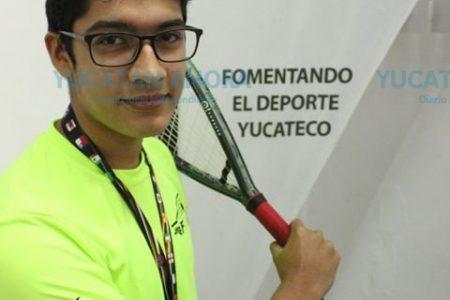Yucateco trae medalla de bronce del Mundial de Ráquetbol