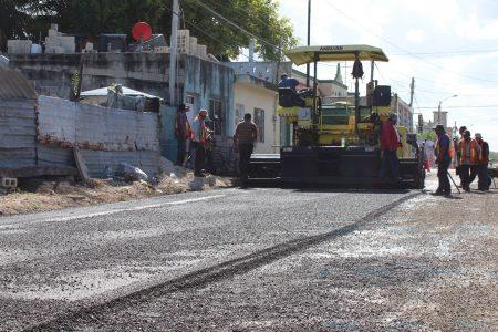 Renuevan las calles de la colonia Revolución de Progreso