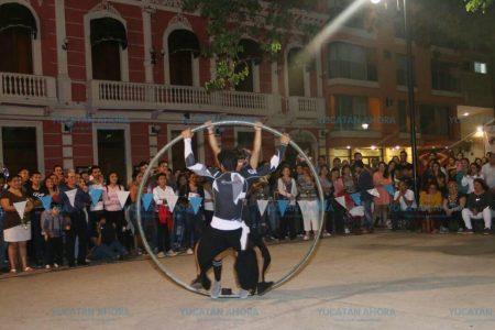 El arte se apoderó de las calles del Centro de Mérida