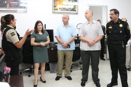 La Policía de Massachusetts capacitará en asuntos internos a la SSP Yucatán