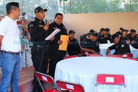 Reconocen trabajo de la Policía de Kanasín que ahora es un 'equipo'
