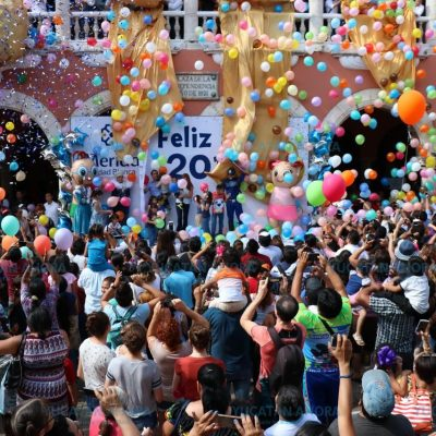 Con un festival para niños y niñas Mauricio Vila despide el 2017