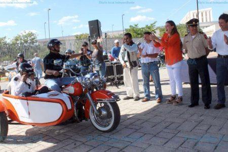 En homenaje a caídos, piden más leyes para proteger al motociclista
