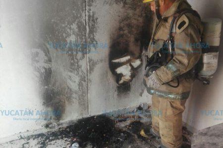 Niños queman su casa al jugar con cerillos