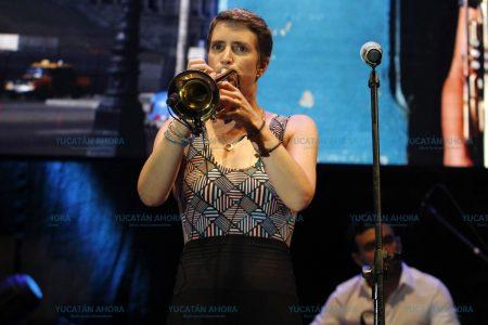 La 'Trompetista del Son' repite la hazaña a los meridanos