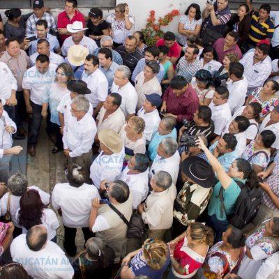 CNC 'cierra los puños' en apoyo a Mauricio Sahuí