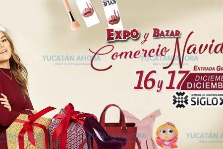 Todo para las fiestas decembrinas, en la Expo y Bazar Comercio Navideño