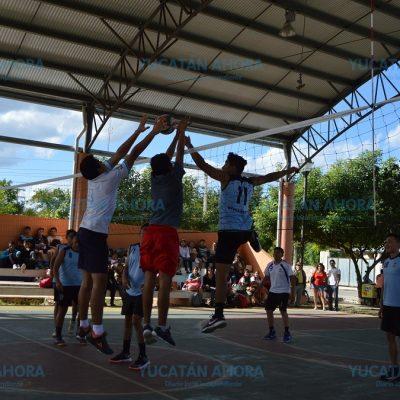 Realizan eliminatoria estatal de vóleibol, rumbo a la Espartaqueada 2018