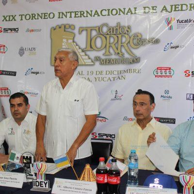 Presentan la XXIX edición del torneo 'Carlos Torre Repetto In Memoriam' de Ajedrez