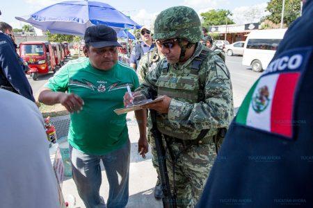 Decomisan juegos pirotécnicos ilegales en calles de Mérida