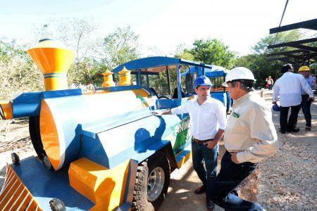 Renuevan espacios y servicios en el Parque Animaya