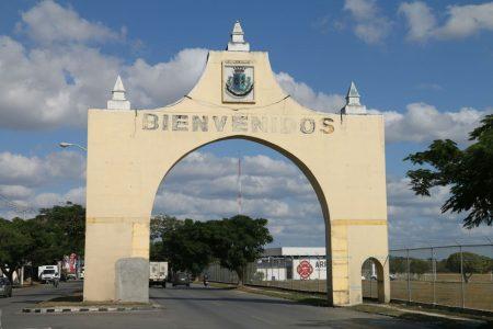 Darán mantenimiento al arco de bievenida a Mérida, en la avenida Internacional