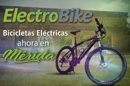 Llega a Mérida franquicia de bicicletas eléctricas