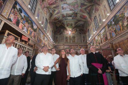 Réplica de la Capilla Sixtina permanecerá en Mérida hasta el 19 de diciembre