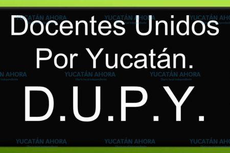 DUPY contra Víctor Caballero y su desdén a los profesores yucatecos