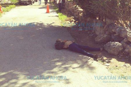 Atropella a ebrio dormido en la calle… y hace algo extraordinario