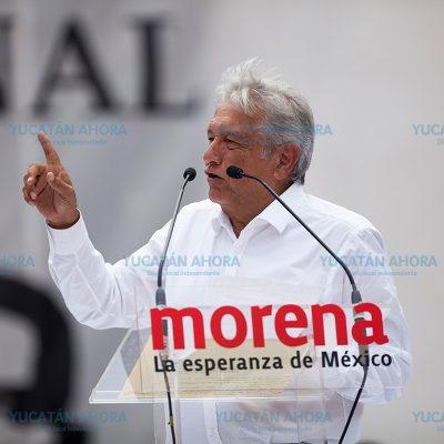 Se registra López Obrador como precandidato de Morena a la Presidencia