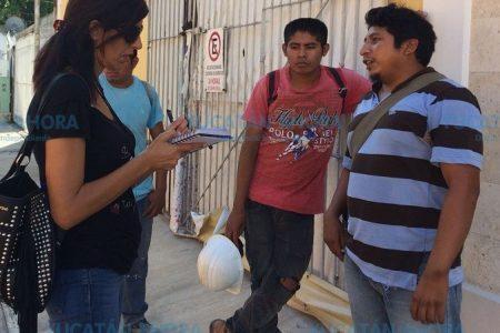 Los albañiles sin trabajo, la otra cara de la tragedia en Paseo 60