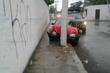 'Epidemia' de accidentes por piso mojado, en calles de Mérida