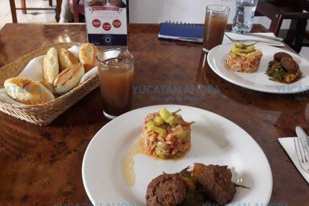 Bacalao y romeritos, el menú navideño del Hotel Misión Mérida Panamericana