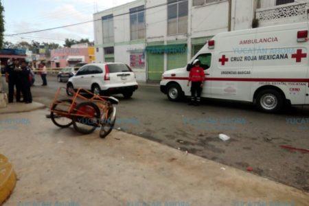 Tragedia mañanera en el centro de Mérida