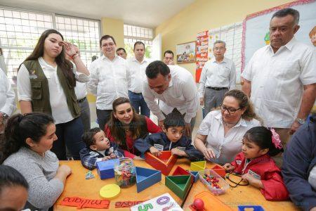 Protegen del frío a 215 mil niños yucatecos