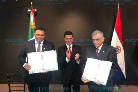 Yucatán y Paraguay explorarán áreas de oportunidad en ciencia y tecnología