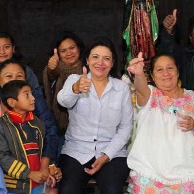Sofía Castro va a pedir apoyo a su candidatura independiente a Muxupip
