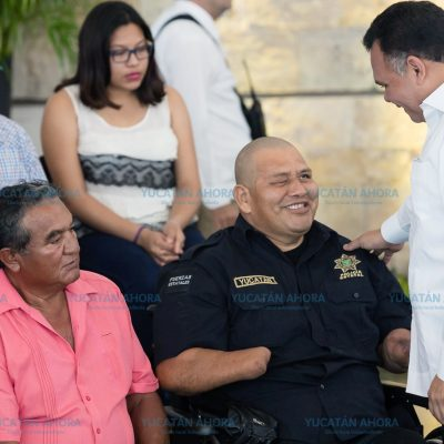 Asegura Rolando Zapata que ha cumplido el 84 por ciento de 227 compromisos