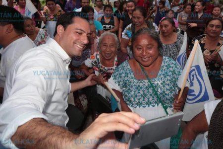 Mauricio Vila ya recorrió la mitad del estado en solo dos semanas