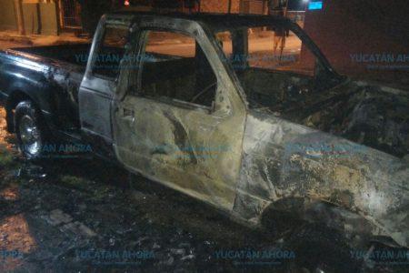 No eran las bombitas, era su camioneta que se quemaba
